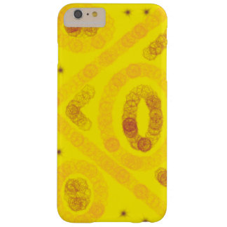 Conception de style bohème jaune coque iPhone 6 plus barely there