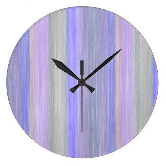 conception de style de couleurs en pastel de livre grande horloge ronde