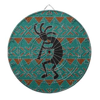 Conception de sud-ouest dansant Kokopelli Jeu De Fléchettes
