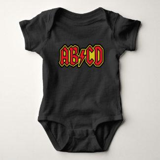 Conception de T-shirt d'ABCD