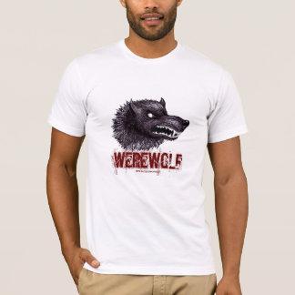 Conception de T-shirt de loup-garou
