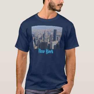 Conception de T-shirt de New York City