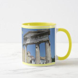 Conception de tasse d'Athènes Grèce
