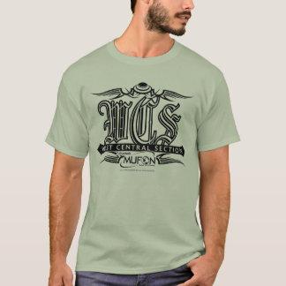 Conception de tatouage de noir de l'Arkansas Mufon T-shirt