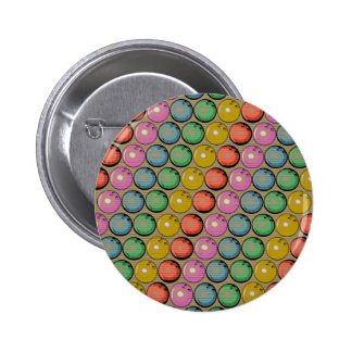 CONCEPTION DE TECH DE BOULES DE BOWLING BADGE ROND 5 CM