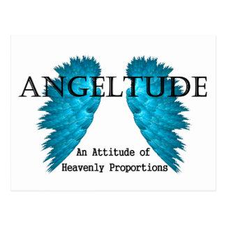 Conception de tee - shirt d'Angeltude (attitude) Cartes Postales