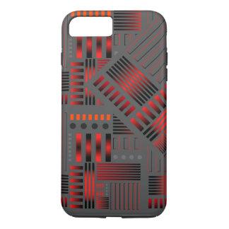 """Conception de """"tuyaux d'en cuivre"""" de cas de coque iPhone 7 plus"""