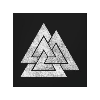 Conception de Valknut Viking Toile