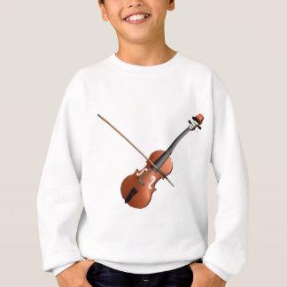 Conception de violon sweatshirt
