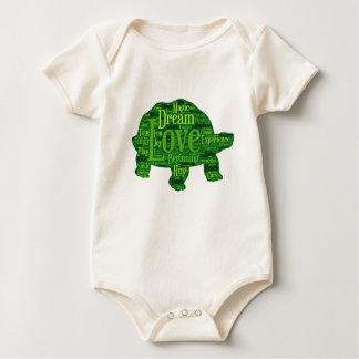 Conception d'enfants de tortue body