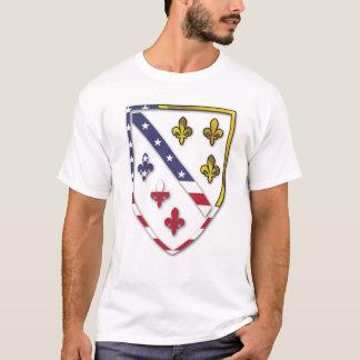 Conception des Etats-Unis Bosnie de T-shirt