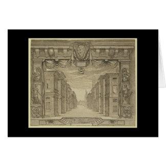 Conception d'étape de la Renaissance Cartes