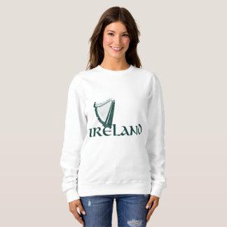 Conception d'harpe de l'Irlande, harpe irlandaise Sweatshirt