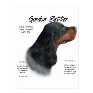 Conception d'histoire de poseur de Gordon Carte Postale