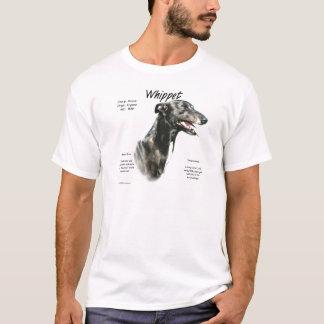 Conception d'histoire de whippet t-shirt