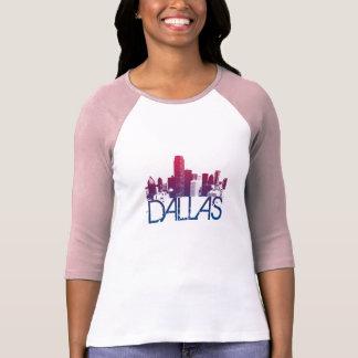 Conception d'horizon de Dallas T-shirt