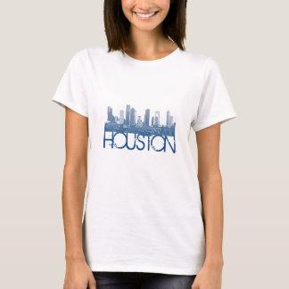 Conception d'horizon de Houston T-shirt