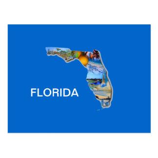 CONCEPTION D'IMAGE DE LA FLORIDE CARTE POSTALE