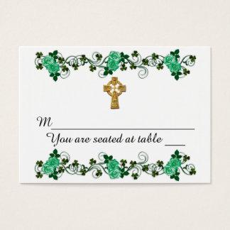 Conception d'Irlandais pour épouser des cartes