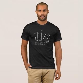 Conception d'ombre de T-shirt de martyres de jazz