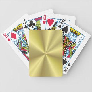 Conception d'or jeu de poker