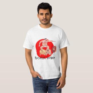 Conception d'ours de beignet de maître du T-shirt