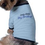 Conception drôle de frère vêtement pour chien