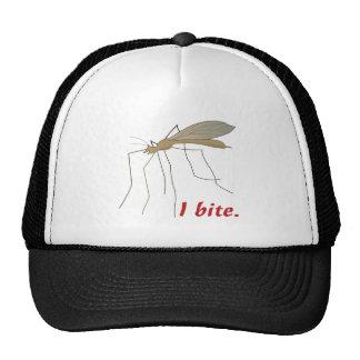 conception drôle de moustique de morsure d'I Casquettes