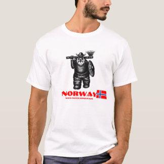 Conception drôle de T-shirt de Viking Norvège