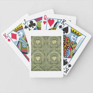 Conception ecclésiastique de papier peint de motif cartes à jouer