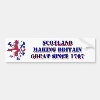 Conception écossaise patriotique de Jack des Autocollant Pour Voiture