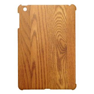 Conception en bois légère de grain coques pour iPad mini