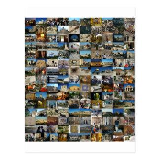 Conception Exclusivo 100 Faces de Jerusalém Carte Postale
