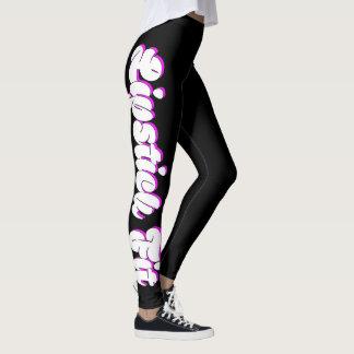 Conception femelle convenable de forme physique de leggings