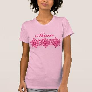 Conception florale assez rose du jour de mère t-shirt