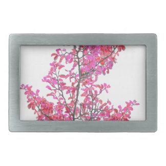 Conception florale mignonne colorée boucle de ceinture rectangulaire