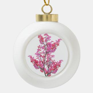 Conception florale mignonne colorée boule en céramique