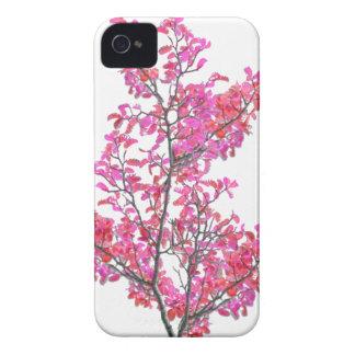 Conception florale mignonne colorée coques Case-Mate iPhone 4