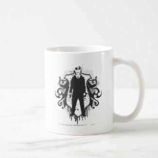 Conception foncée d'arts de Malfoy de Draco Mug