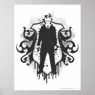 Conception foncée d'arts de Malfoy de Draco Posters