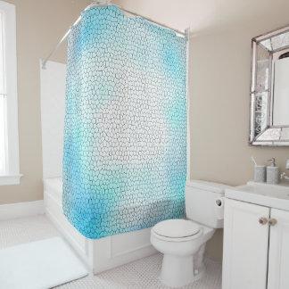 Conception fraîche de mosaïque en verre souillé de rideaux de douche