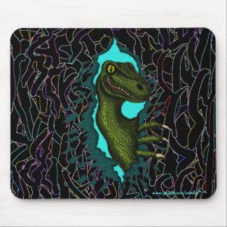 Conception fraîche de mousepad de dinosaure de vel tapis de souris