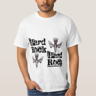 Conception fraîche de T-shirt de hard rock