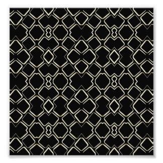 Conception futuriste de motif abstrait géométrique photographes