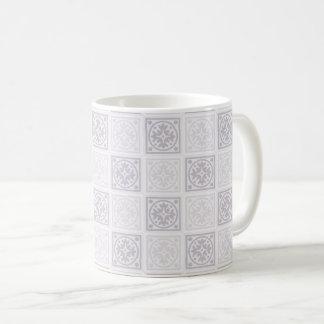 Conception géométrique de tuile mug