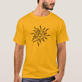 Conception graphique de rayon de soleil t-shirt