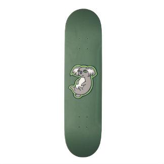 Conception grise de détente de dessin de vert de skateboard  20 cm
