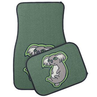 Conception grise de détente de dessin de vert de tapis de sol