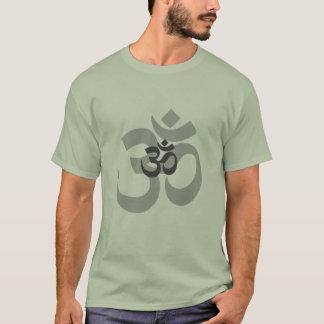 Conception grise de l'OM Aum pour les hommes T-shirt