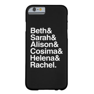 Conception helvetica orpheline du noir | coque iPhone 6 barely there